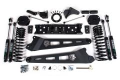 "Zone Offroad D78N 4.5"" Radius Arm Systems 19-20 RAM 2500 4WD Diesel injected motorsports"